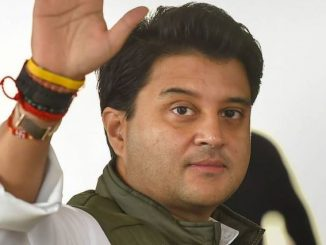 Jyotiraditya Scindia removes BJP from Twitter profile Speculation became intense