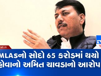 BJP spent Rs 65 crore to lure our MLA Congress Amit Chavda