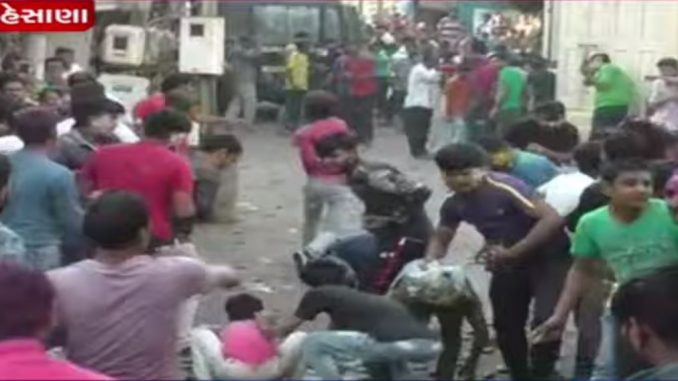 A Unique Holi Celebration by Visnagar residents Mehsana
