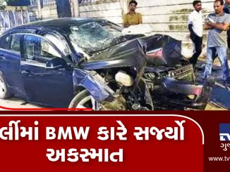 Speeding car rams into divider in Worli 6 months old baby among 3 died on the spot