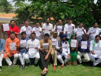 Madhya Pradesh political crisis: Jyotiraditya Scindia leaves Congress, 14 MLAs resign Dhuleti na divas e moto rajkiya ghatnakaram Jyotiraditya Scindia bad congress na 14 MLAs rajinama aapya