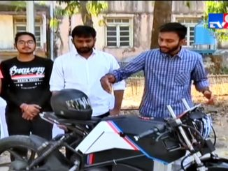 Vadodara students innovate breeze bike with the help of start up program