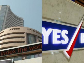 Share market update: Bank shares tumble; Yes Bank tanks 25% shate market ma jordar kadako yes bank ma share ma 25% no ghatado