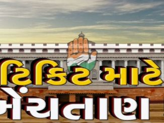 Gujarat RS polls; 7 Congress MLAs may vote against party Rajkot rajyasabha ni chutani ne lai BJP ni kavayat tej congress na 7 MLA cross voting kare tevi shakyata