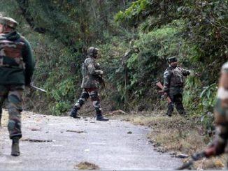 security forces killed three unidentified terrorists in encounter search operation Jammu Kashmir sena e anantnag ma vadhu 3 aatankio ne karya thar search operation chalu