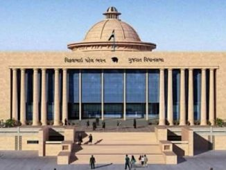 Ahead of assembly session, Gujarat BJP calls meeting Vidhansabha na satra pehla BJP e MLAs ni bolavi bethak CM Rupani ane DyCM Nitin Patel rahse hajar