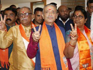 Gujarat BJP will win 3 RajyaSabha seats Narhari Amin