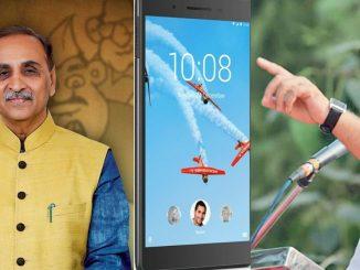 BJP Congress face to face on tablet Price issue in Gujarat Vidhansabha jano sarkar tablet ne laine kevi rite aamne samne aavi