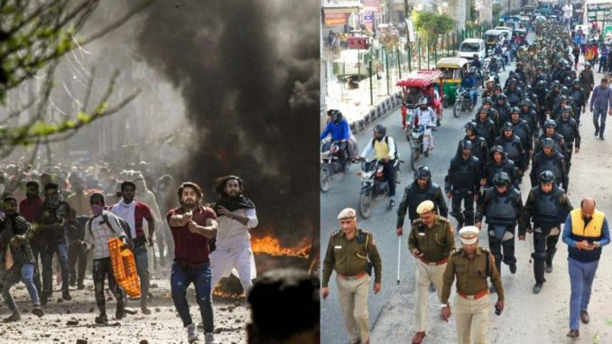 delhi-violence-death-Police Arrested 903 people while Fir Against 250 people delhi police hinsa ma kri karyavaahi
