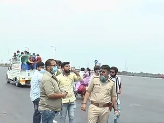 Lockdown in Gujarat : Migrants facing difficulties, police made available transportation facility