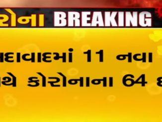 Gujarat registers 16 new coronavirus positive cases Gujrat ma corona virus na case ma vadharo ahmedabad ma sthiti sauthi vadhare visfotak