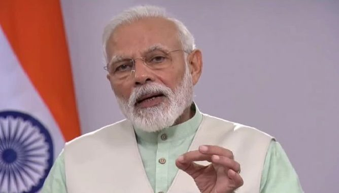 Prime Minister Narendra Modi will address the nation at 10 AM tomorrow