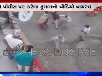 Police attacked by mob in Indore