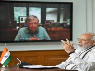 pm modi and bill gates talk on video conference discussion on coronavirus PM Modi e Bill gates sathe Video conference thi corona virus par kari charcha