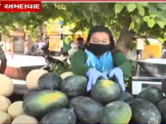 Coronavirus crisis BBA pass out selling fruits due to Financial distress Ahmedabad