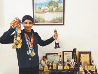 Mumbai: Gujarati Parivar na dikra e academic ane sports ma hansal kari anek sidhio 15 varsh ni umar ma j 70 medal ane 20 jetli trophy medvi