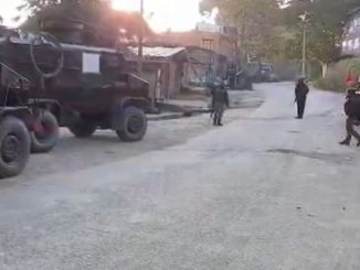 three militants killed in shopian district of jammu kashmir Jammu Kashmir na shopian jilla ma sena e 3 aatanki o ne karya thar search opration chalu