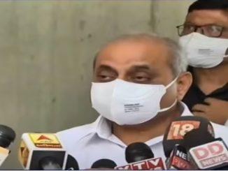 Doctor ni bhalaman par Private labs ma corona no test kari shakase: DyCM Nitin Patel