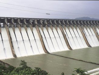 Narmada dam water level touches 127.26 mtr mark Gujarat
