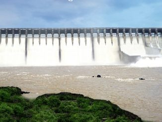 Water level of Narmada dam rises to 127.70 meter