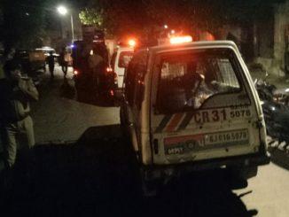 Ahmedabad Stones pelted after verbal dispute between two groups turned violent in Shahpur amdavad na shahpur khanpur bhilwas pase pathmara ni ghatna same aavta police staff dodi gyo juo video
