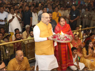 HM Amit Shah to reach Ahmedabad tonight to attend Mangala Aarti tomorrow