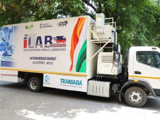 India's first mobile lab forpromote last mile testing access in rural India.