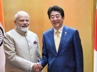 annual summit between prime ministers narendra modi and shinzo abe possibly around october China ne gerva ni taiyari october ma modi Japan na PM Shinzo abe sathe mulakat kari shake
