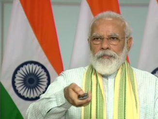 pm narendra modi in rewa 750 megawatt solar project Sarkari vibhag kharidse solar no make in India saman aayat par nirbharta ochi: PM Modi
