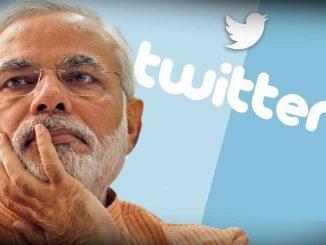 pm narendra modi crosses 60 million followers on twitter Twitter par sauthi vadhare folowers dharavnara trija rajneta banya PM Modi jano pratham ane bija number par kon?