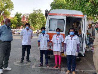 SMC starts Dhanvantari Rath to save policemen from Coronavirus Surat