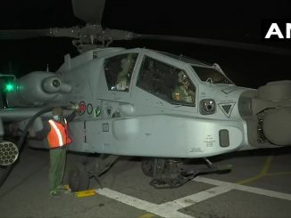 Overnight air force at the border