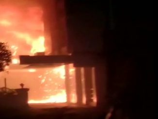 AndhraPradesh: Fire breaks out at a hotel in Vijayawada, fire tenders rushed to the spot. The hotel was being used as a COVID19 facility by a hospital Covid centre ma lagi aag 7 loko na mot muratako ni sankhya vadhi shake