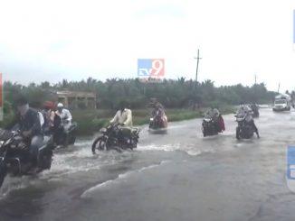 GirSomnath: National highway pani ma garkav loko trast ane tantra nindradhin