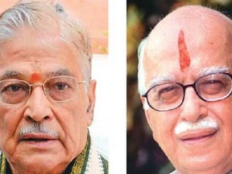 LK Advani, Murli Manohar Joshi may attend Ayodhya bhumi pujan via Video conference Rammandir na bhoomi pujan karyakarm ma l k advani ane murli manohar joshi video conference thi hajar rahse