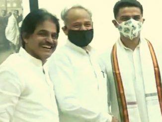 rajasthan-sachin-pilot-reached-cm-ashok-gehlots-house-in-congress-meeting