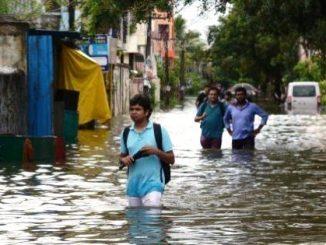 Heavy rain lashed Surendranagar streets waterlogged farms destroyed