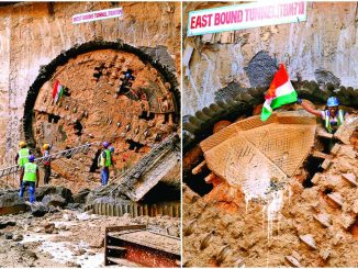 Tunneling works in 6.51 km underground section between Apparel Park and Shahpur of the metro completed