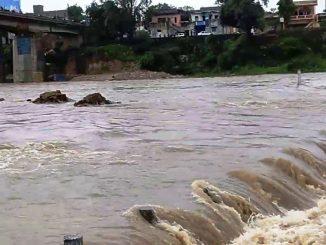 Water level of Hathmati resource touches increasing 27 villages put on alert Sabarkantah