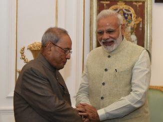 PM Modi expresses grief over demise of former President Pranab Mukherjee