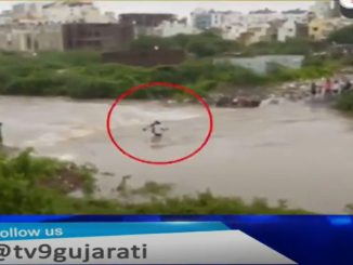 Two swept away by flood waters in Mota Mauva Rajkot