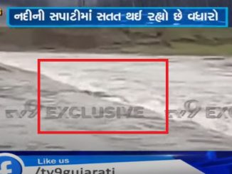 Navsari: Car gets stranded in flowing waters of Ambica river, 2 rescued