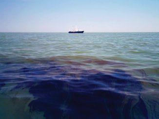 A cargo ship sank in the sea near Mumbai