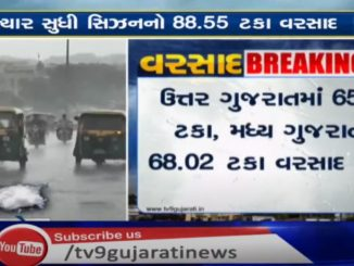 Gujarat records 88.55% of season's rainfall till now