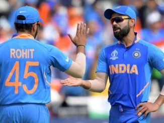 In the new ICC rankings, Virat Kohli and Rohit Sharma dominate the top two