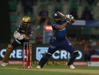 T-20 League Rohit sharma ni aadthi sadi KKR ne jitva mate 196 run no target
