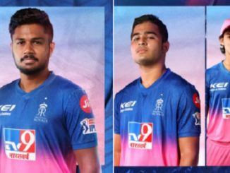 ipl-2020-rajasthan-royals-launches-new-jersey-for-this-season-in-style- IPL 2020 mate lauch thai RR ni jersey khas aandaj ma batavama aavi jalak juvu video