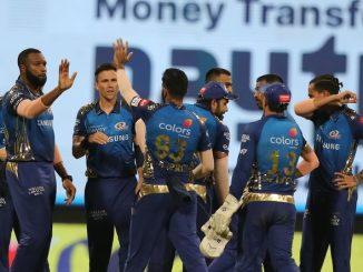 T20 League mumbai indians ni pratham jit 2 vakhat champion rahi chukeli KKR ni har