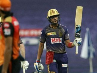 T20 league kkr ni season ni pratham jit SRH ne 7 wicket e haravyu