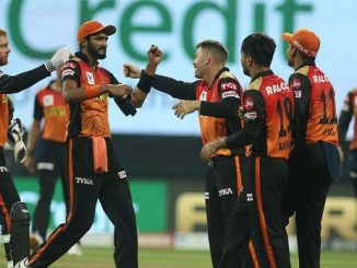 T20 League SRH ni Tournament ma pratham Jit 15 run e DC ni har